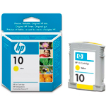 Картридж HP 10 C4842AE желтый (Hewlett Packard №10 yellow)