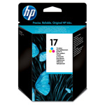 Картридж HP 17 C6625AE цветной (Hewlett Packard №17 color): купить