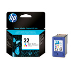 Картридж HP 22 C9352AE цветной (Hewlett Packard №22 color): купить