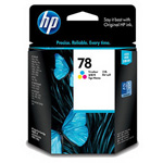 Картридж HP 78 C6578D цветной (Hewlett Packard №78D color): купить