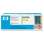 Картридж HP Q3972A желтый (Hewlett Packard 123A yellow)